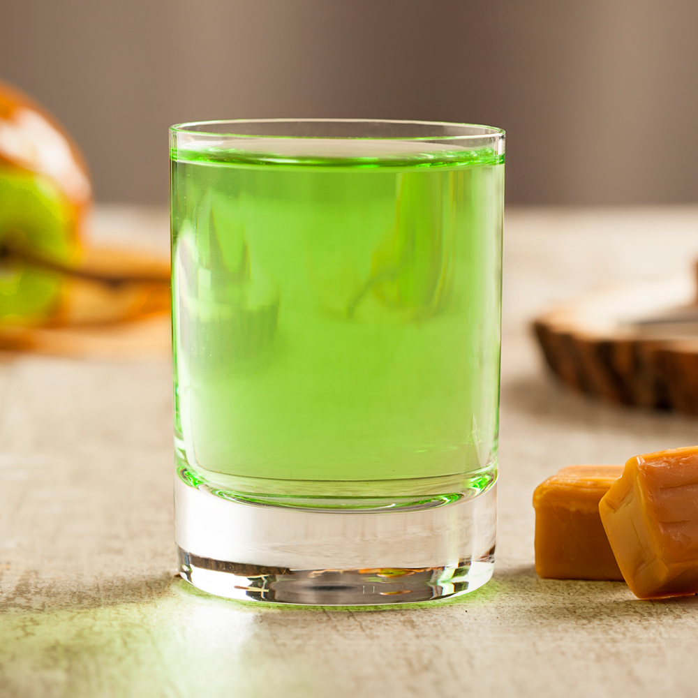 caramel apple shot recipe | the cocktail project