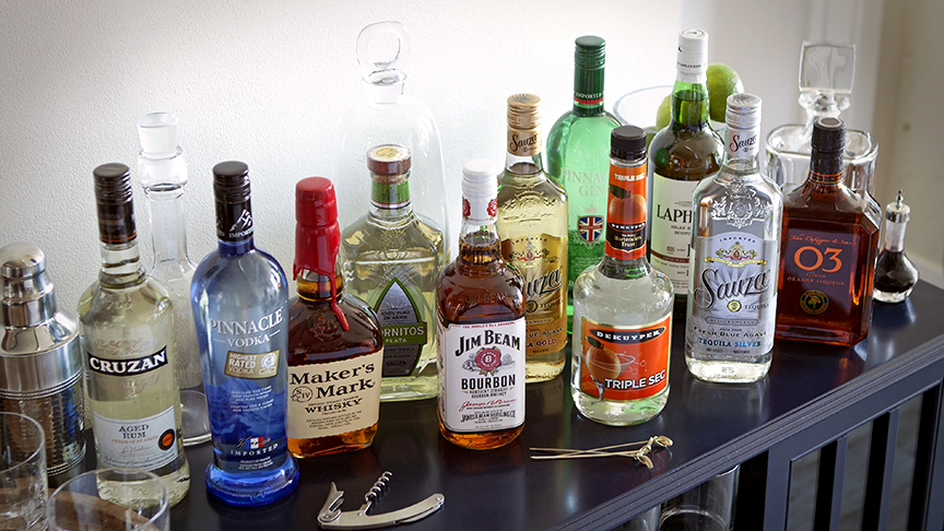 Spirits - How to Stock a Bar