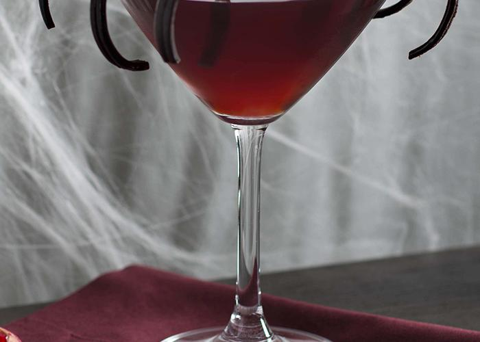 Black Widow Martini   The Cocktail Project