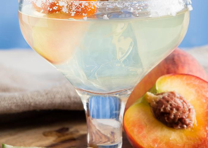 Sauza® Peach Margarita   The Cocktail Project