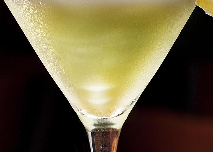 Sour Apple Popsicle Martini | The Cocktail Project