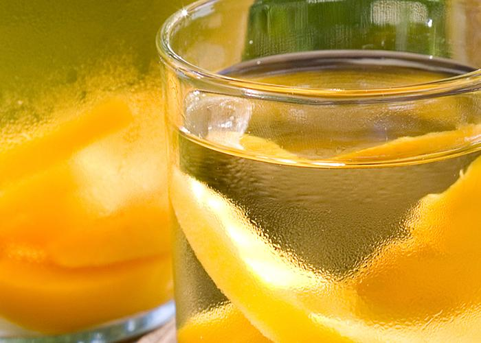 Cruzan® Peach Sangria | The Cocktail Project