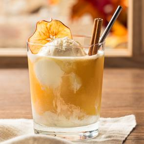 Apple Cider Float cocktail recipe