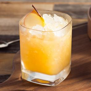 Bourbon Cider Sour cocktail recipe