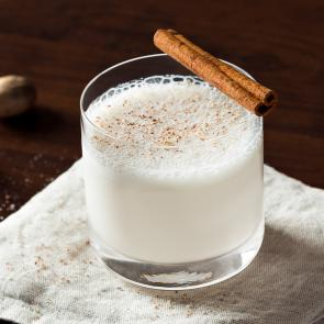 Bourbon Milk Punch | The Cocktail Porject