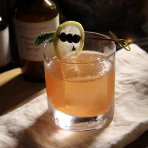 The Lemon Wreath | The Cocktail Porject