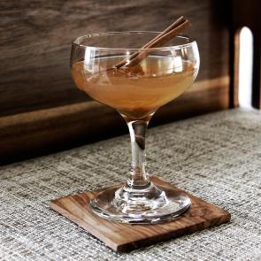 Pumpkin Bourbon Cider cocktail recipe