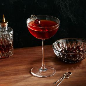 Baker's® Midnight Manhattan cocktail recipe