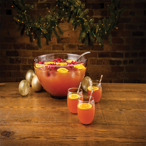 Holly Jolly Punch cocktail recipe