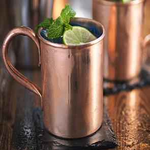 Blue Mule | The Cocktail Porject