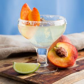 Sauza® Peach Margarita | The Cocktail Porject
