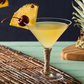Pina Colada Martini | The Cocktail Porject