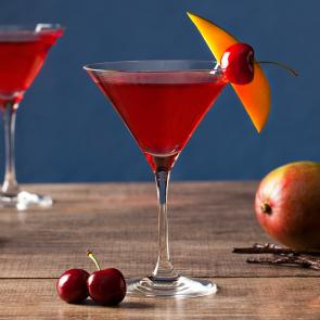 Mango Cran-Tini | The Cocktail Porject