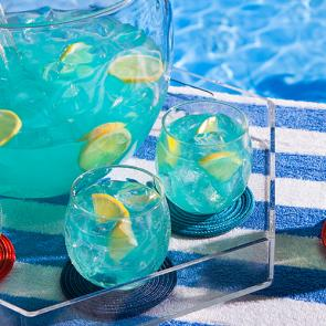 Summer Fish Bowl cocktail recipe