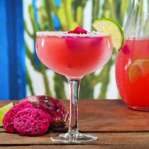 Prickly Pink Margarita | The Cocktail Porject