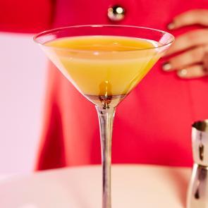 Orange Coco-Naut Cosmos | The Cocktail Porject
