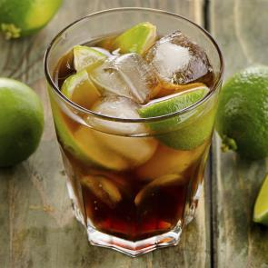 Cruzan® 9 and Cola   The Cocktail Porject