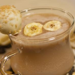 Banana Truffle-nog cocktail recipe