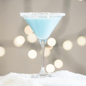 Coconut Snowball Martini | The Cocktail Porject