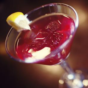 Double Razzmatazz® Grape Martini cocktail recipe