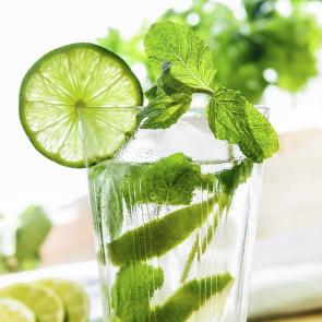 Easy Mint Mojito cocktail recipe
