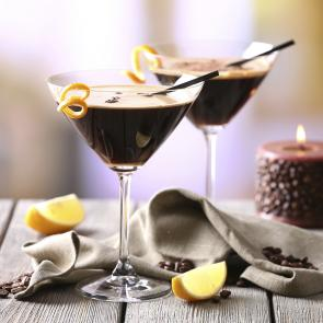 Mint Mocha Martini cocktail recipe