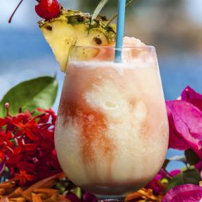 Rom-Com Colada cocktail recipe