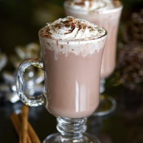 Spicy Hot Chocolate | The Cocktail Porject
