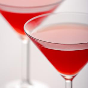Strawberry Tease Martini | The Cocktail Porject