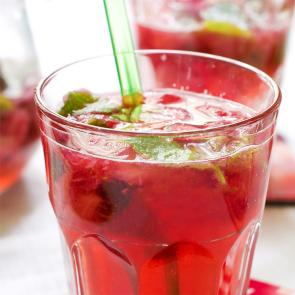 The Raspberry Julep cocktail recipe