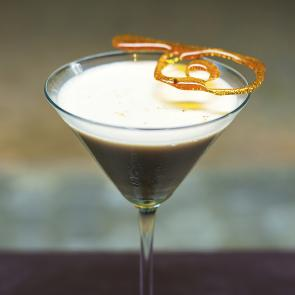 Toffee Drop Martini | The Cocktail Porject