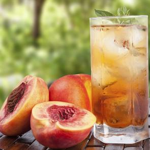 Front Porch Peach Tea | The Cocktail Porject