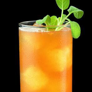 Apricot Sage Bourbon Cocktail | The Cocktail Porject