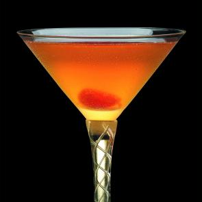 Fashionable Manhattan cocktail recipe