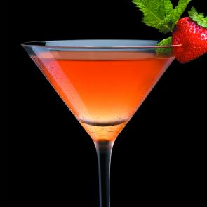 Strawberry Julep cocktail recipe