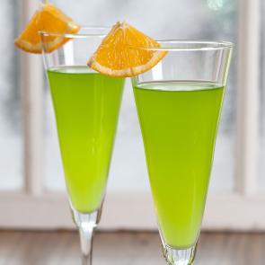 Midori® Orange and Sparkling | The Cocktail Porject