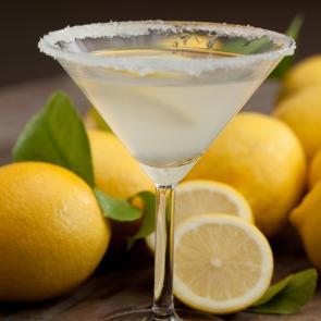 Kiwi Zest Martini | The Cocktail Porject