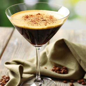 Mocha Razz-Tini cocktail recipe