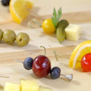 Tips and Tricks: Simple Garnishes