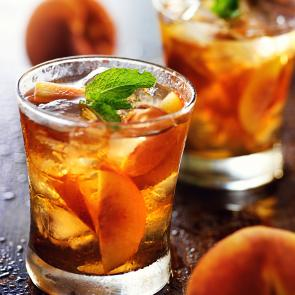 Peach Mojito cocktail recipe