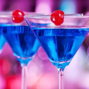 Blue Martini cocktail recipe