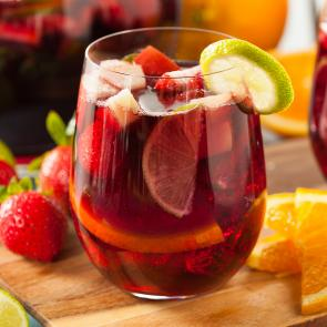 Razzmatazz® Sangria cocktail recipe