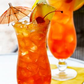 Watermelon Mai Tai cocktail recipe
