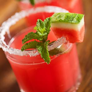 Watermelon Margarita cocktail recipe