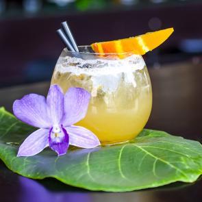 Mango Rum Margarita   The Cocktail Porject