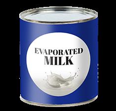 Evaporated Milk - Drink Recipe Ingredient