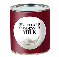 Sweetened Condensed Milk - Drink Recipe Ingredient
