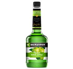 DeKuyper<sup>®</sup> Pucker<sup>®</sup> Sour Apple Schnapps - Drink Recipe Ingredient