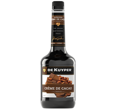 DeKuyper<sup>®</sup> Creme De Cacao Dark Liqueur - Drink Recipe Ingredient