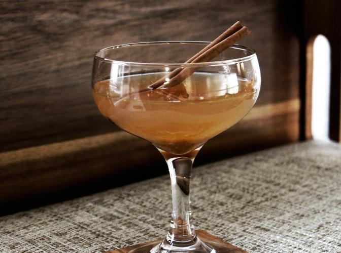 Pumpkin Bourbon Cider | The Cocktail Project